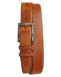 Torino Belts Embossed Leather Belt