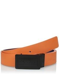 Lacoste Sportswear Leather Reversible Belt