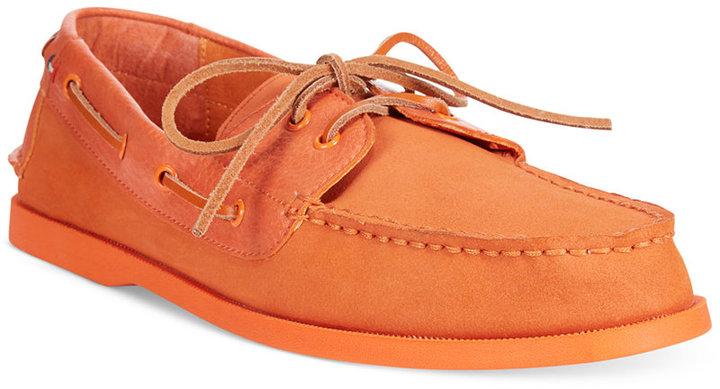 21b76cc94 ... Tommy Hilfiger Suede Bowman Boat Shoes ...