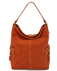 Tano Check Bucket Hobo Bag