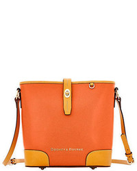 Dooney & Bourke Claremont Leather Bucket Crossbody Bag