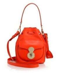 Ralph Lauren Collection Small Drawstring Shoulder Bag