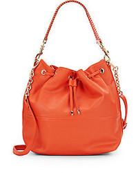 Deux Lux Downtown Faux Leather Bucket Bag