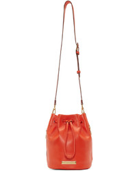 Marc by Marc Jacobs Orange Luna Bucket Bag