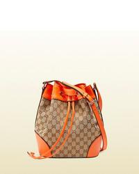 Gucci Original Gg Canvas Bucket Bag