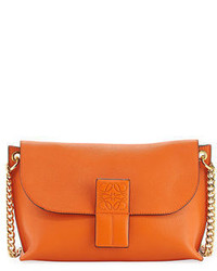 Loewe Avenue Leather Pouch Shoulder Bag