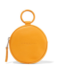 SIMON MILLE Circle Pop Textured Leather Pouch