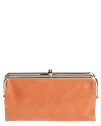 Lauren leather double frame clutch grey medium 4471886