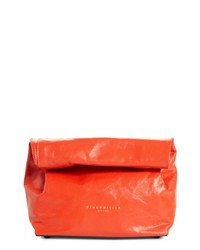 Simon Miller Lunchbag Leather Clutch