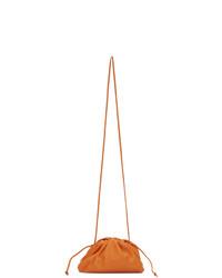 Bottega Veneta Orange Small The Pouch Clutch