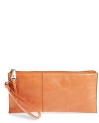 Hobo Vida Leather Clutch Metallic