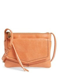 Amble leather crossbody bag orange medium 4423223