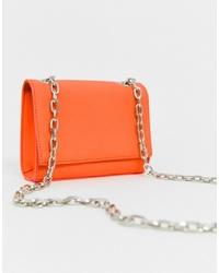 New Look Cross Body Bag In Neon Orange