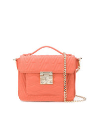Versace Jeans Logo Quilted Tote