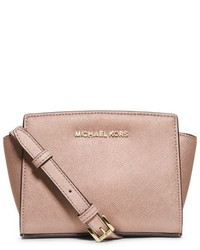 1ff3a8d9ee036 ... usa michael kors michl kors selma mini saffiano leather crossbody 00e2c  20e3a ...