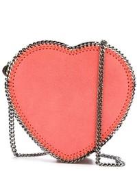Stella McCartney Falabella Heart Crossbody Bag
