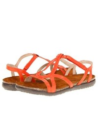 Naot Footwear Dorith Sandals Orange Leather