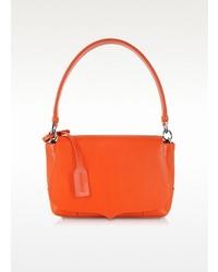 Jil Sander Jane Orange Leather Handbag