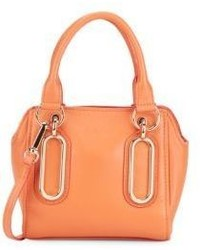 Paige Mini Leather Bucket Bag