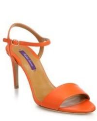 Ralph Lauren Astera 75 Leather Sandals