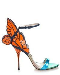 Sophia Webster Chiara Butterfly Leather Sandals