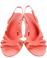 Bottega Veneta Leather Slingback Sandals