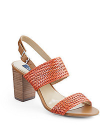 Saks fifth avenue gracie braided strap sandals medium 367158
