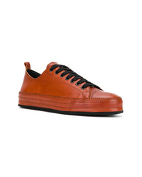 Ann Demeulemeester Low Top Lace Up Sneakers