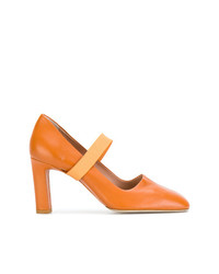 Santoni Edited By Marco Zanini Cross Strap Pumps