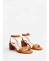 Mango Ankle Cuff Sandals