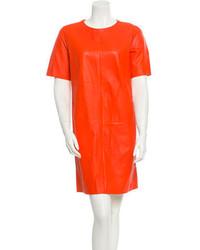 Leather dress w tags medium 283929
