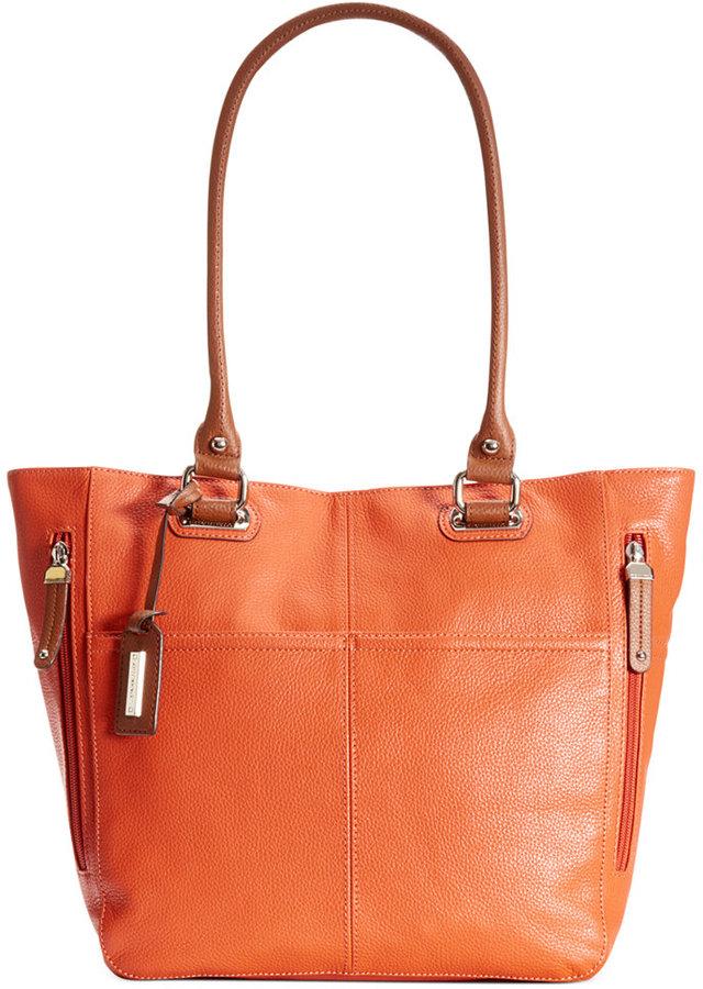 165 Tignanello Handbag Perfect Pocket Leather Tote