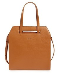 Mardi faux leather tote orange medium 1044268