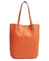 Naomi leather tote orange medium 3683842