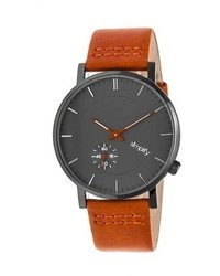 Simplify The 3600 Leather Band Watch