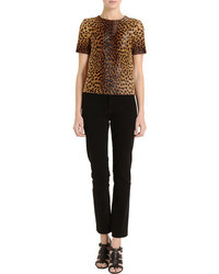 Barneys New York Leopard Print Tk T Shirt