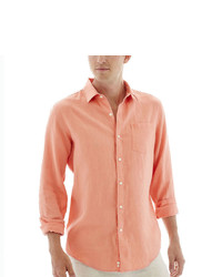 Claiborne Long Sleeve Linen Shirt