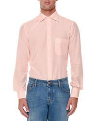 Stefano Ricci Printed Long Sleeve Sport Shirt