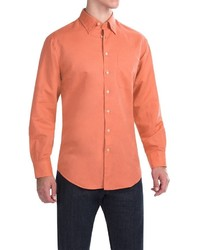 Scott Barber Andrew Solid Shirt Button Front Long Sleeve