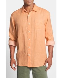 Tommy Bahama Sea Glass Breezer Original Fit Linen Shirt