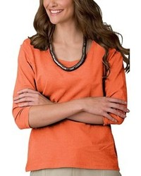 Orange long sleeve t shirt original 1286151