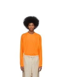 Acne Studios Orange Eggan T Shirt