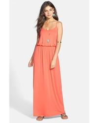 Lush knit maxi dress medium 228671