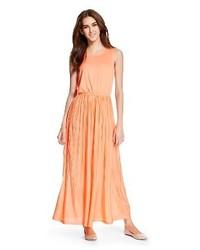 Mossimo Pleated Maxi Dress
