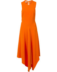 Orange midi dress original 9934422