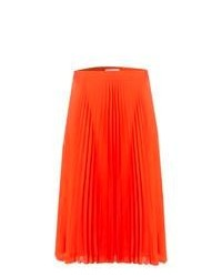 Orange midi skirt original 1473423