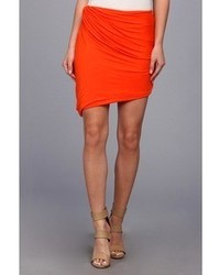 Orange mini skirt original 1462407