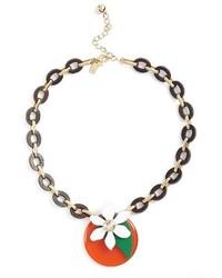 Kate Spade New York Citrus Crush Pendant Necklace