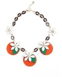 Kate Spade New York Citrus Crush Statet Necklace