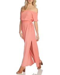 1 STATE 1state Blouson Off The Shoulder Maxi Dress